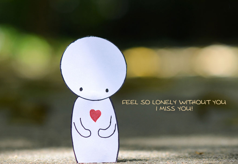 Sweet i miss you quotes for her